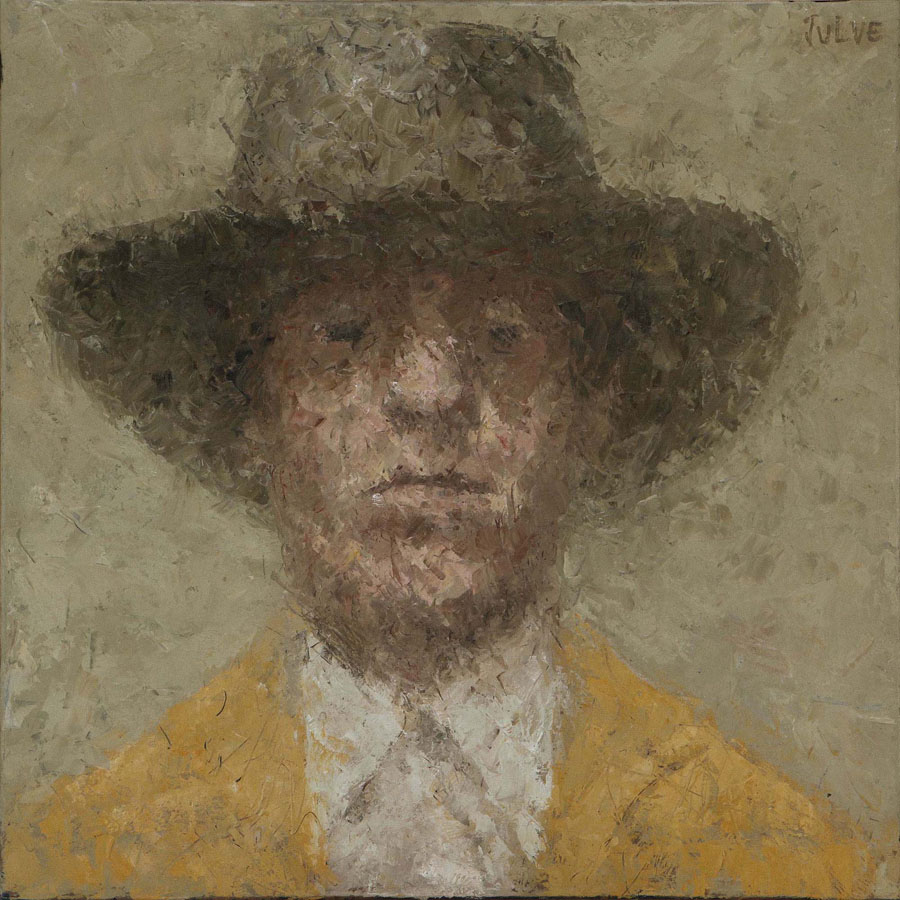 42 - REMBRANDT POST - 50 X 50 - CATALINA JULVE (ORIGINAL)